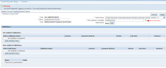 R12 – Custom Check Payment Format | Oracle Apps Store