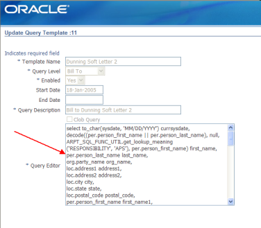 Dunning letter -Setup steps | Oracle Apps Store