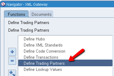 Setup's required to send a XML PO to a Supplier / AP Invoice